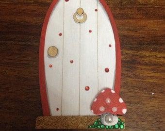 Fairy/Elf/Pixie Door that is Crystal Encrusted