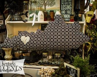 Kentucky Heart Shaped Contemporary Decorative Pillow