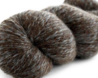 Peruvian Tweed - Slate Brown