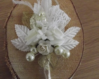 Vintage styled corsage