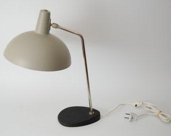 Modernist desk lamp designed by JJM Hoogervorst for Anvia Almelo Holland, 50s Dutch design