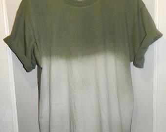 Tie Dye T-Shirt acid wash T-shirt hipster Retro 90s dip dye Galaxy top