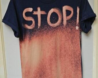 Tie Dye T-Shirt  acid wash T-shirt hipster grunge Retro 90s dip dye unisex Galaxy top