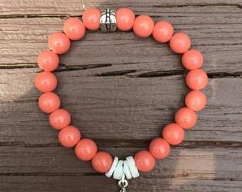 Summer Starfish stretch bracelet