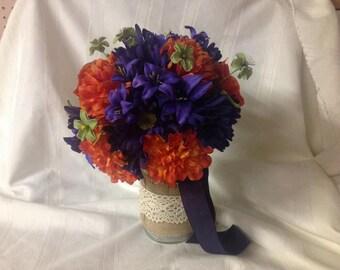 Fall flowers bouquet