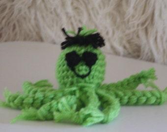 green baby octopus