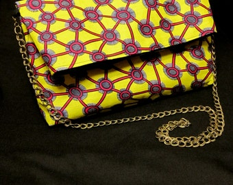 African fabric bags