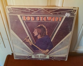 Rod Stewart, Every Picture Tells a Story- Vintage vinyl record 1972