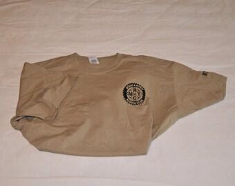 MTRC Short Sleeved T Shirt - Sand