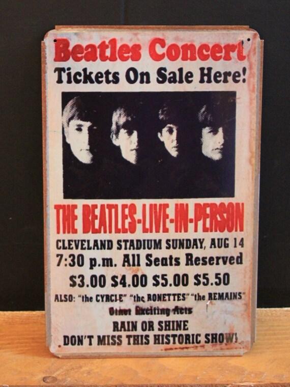Nirvana 1991 UK Tour Vintage Style Metal Sign ( 20x30cm )