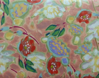 1 Yard Painted Summer by Lida Enche In The Beginning Fabric