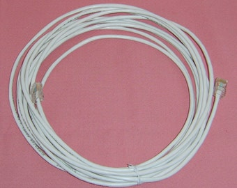 20 FT Network Cable RJ45 Connections - Great for Game Consoles