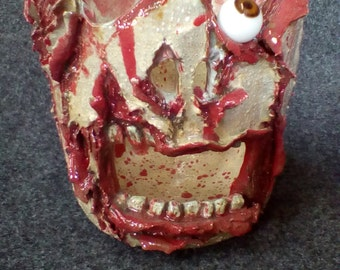 Zombie Attack Candle Holder