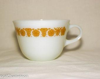 Vintage Corning Teacup Mug White