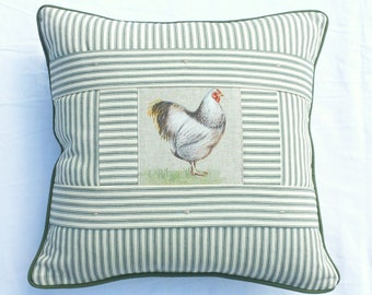 Bespoke Ticking Stripe Cushion Cover