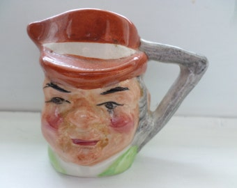 Vintage Artone England Hand Painted Mini TOBY mug Tom Pearce