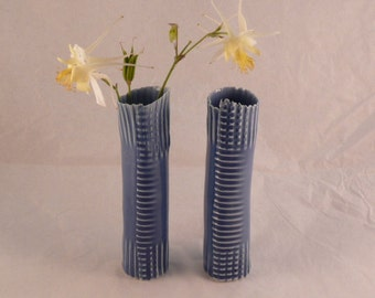 Blue mood vases