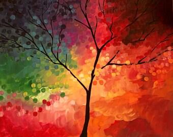 Color Splash Tree