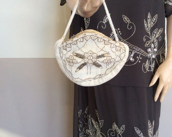 Antique purse fully beaded