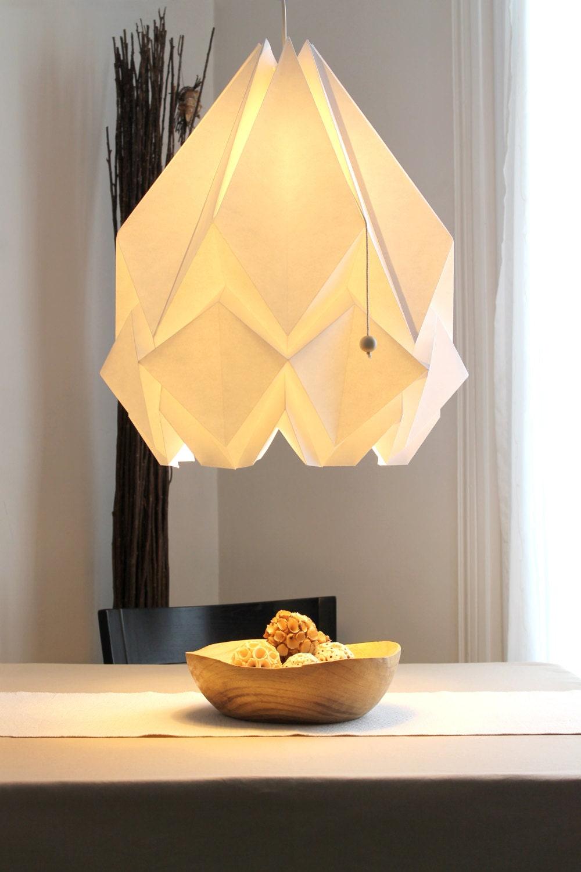 leuchte origami xxl aufh ngung surdimensionee perfekt f r. Black Bedroom Furniture Sets. Home Design Ideas