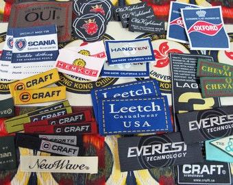 500 Piece Woven Labels