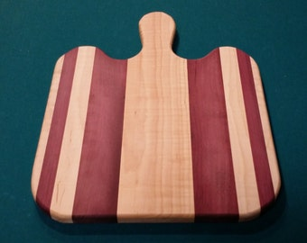 Maple/Purpleheart cutting board