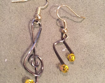 Music is in the Air with these Earrings