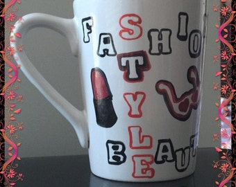Fashion Style Beauty Mug