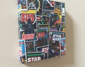Star Wars Fabric Picture cartoon comic man cave she shed home decor