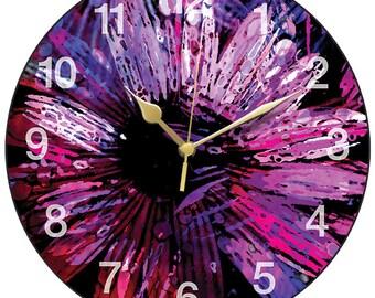 Osteospermum Clock