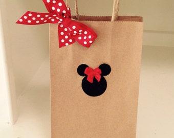 Minnie Mouse Favor Bags