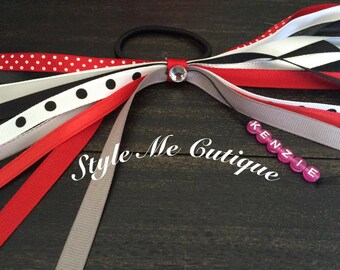 Ponytail Streamers, Ponytail Holders, Pig Tail Ties, Hairbows, Pony O's, Ribbon Streamers, Ponytail Hair Streamers, Custom Streamers