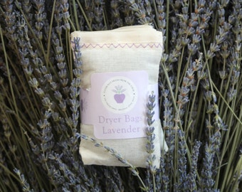 Lavender Dryer Bags (Set of 3)
