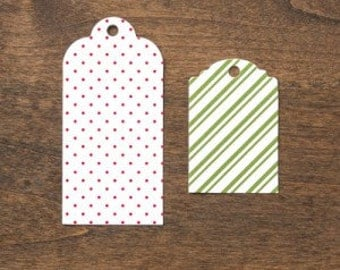 Stampin Up Pretty Presents Designer Tags
