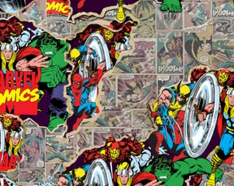 Retro Marvel 100% Cotton Pillowcase, Different Sizes including Body