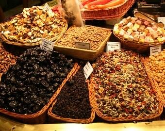 Yummy La Boqueria Market Barcelona Digital Photo