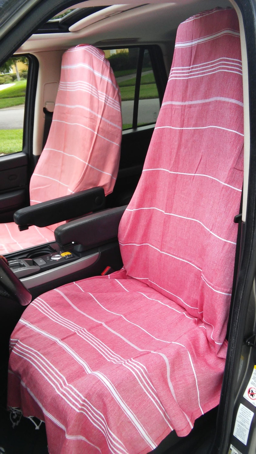 car seat cover yoga towel for your car adjustable. Black Bedroom Furniture Sets. Home Design Ideas