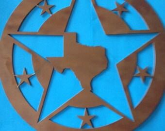 Texas Star Metal Art
