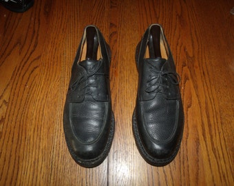 GENUINE Cole Haan Black Leather Oxfords SIZE 1OM