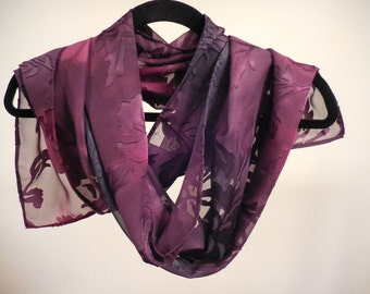 Light Weight Floral Autumn Scarf