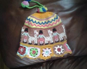 girl chullo hat