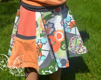 Pocket Full of Posies Skirt PDF pattern