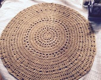 Handmade Jute doily