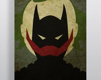 The Dark Knight Minimalism Movie Poster