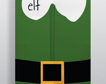 Elf Minimalism Movie Poster