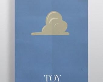 Toy Story Minimalism Movie Poster