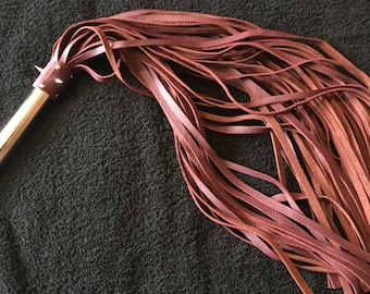 56 fall Leather Flogger - Made to order