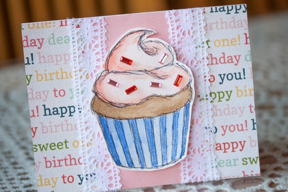 Hey Cupcake! Birthday Greeting Card