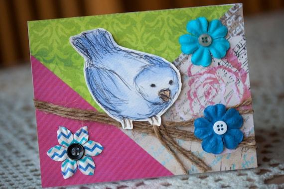 Birdie Branch Greeting Card