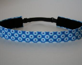 Blue Eyes Non-Slip Adjustable Headband
